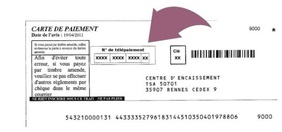 Carte de paiement amende